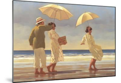 The Picnic Party II-Jack Vettriano-Mounted Art Print