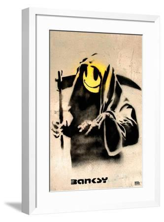 The Reaper-Banksy-Framed Art Print