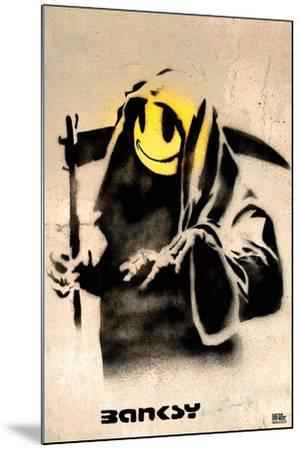 The Reaper-Banksy-Mounted Art Print