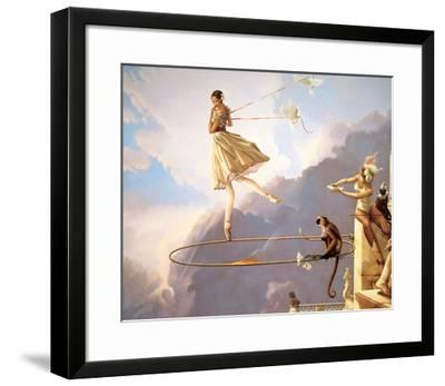 Tuesday's Child-Michael Parkes-Framed Art Print