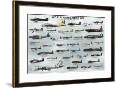 World War II Aircraft-Unknown-Framed Art Print