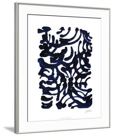 Indigo Swirls I-Jodi Fuchs-Framed Limited Edition