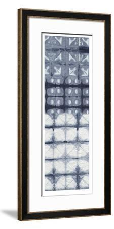 Shibori Collage I-Chariklia Zarris-Framed Limited Edition