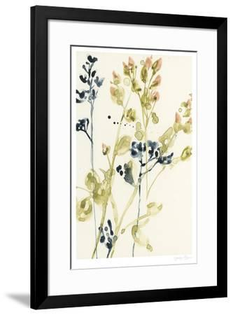 Blush Buds I-Jennifer Goldberger-Framed Limited Edition