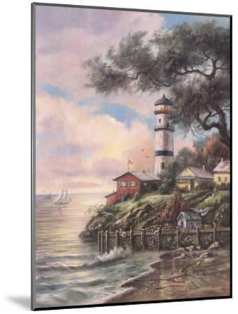 Beacon Light Bay-Carl Valente-Mounted Art Print