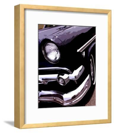 Tail Fins And Two Tones II--Framed Art Print