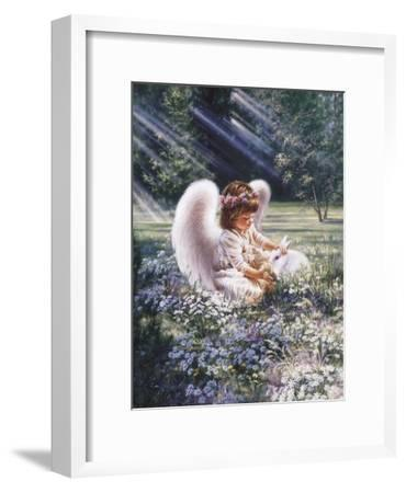 An Angel's Care-Dona Gelsinger-Framed Art Print