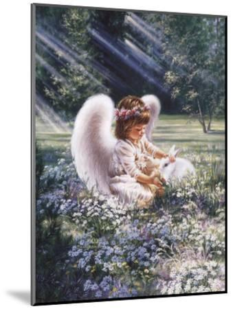 An Angel's Care-Dona Gelsinger-Mounted Art Print