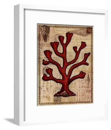 Red Coral IV-Studio Voltaire-Framed Art Print