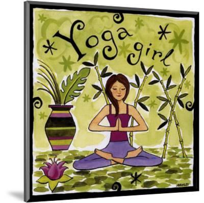 Yoga Girl-Jennifer Brinley-Mounted Art Print