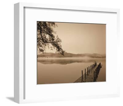 Serenity Dock-Michael Trevillion-Framed Art Print