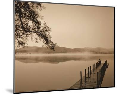 Serenity Dock-Michael Trevillion-Mounted Art Print