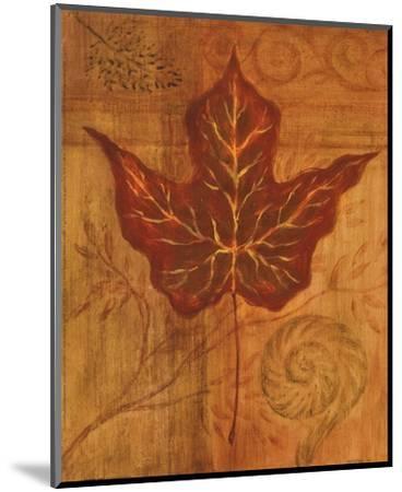 Autumn Leaf I-Marcia Rahmana-Mounted Art Print