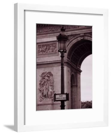 L'Arc De Triomphe-Teo Tarras-Framed Art Print