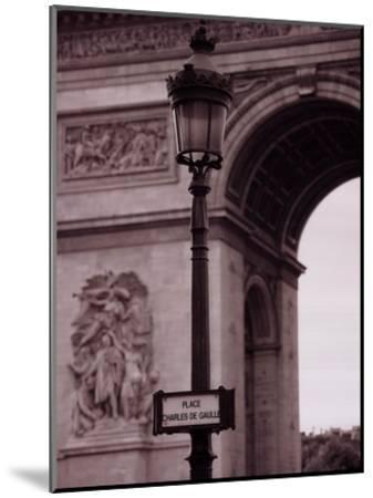 L'Arc De Triomphe-Teo Tarras-Mounted Art Print