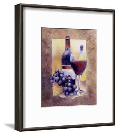 Smooth Red Wine-Nancy Cheng-Framed Art Print