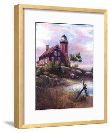 Eagle Harbor Light-Joe Sambataro-Framed Art Print