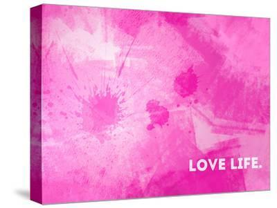Emotional Art Love Life-Melanie Viola-Stretched Canvas Print