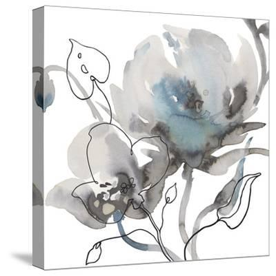 Winter Floral Illustrated II-Sandra Jacobs-Stretched Canvas Print