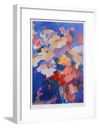 Sparkling Flowers-Zora Buchanan-Framed Collectable Print
