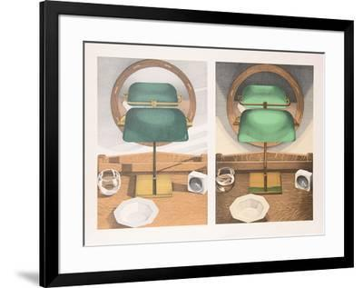 Light Study with Mirror-Leigh Behnke-Framed Collectable Print