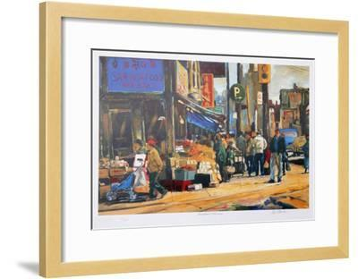 Broadview and Gerrard-Neville Clarke-Framed Collectable Print