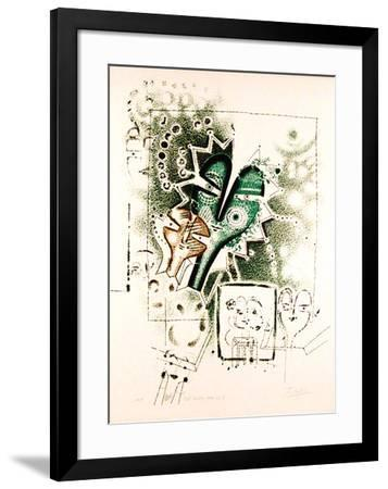 Eve Series #2-Anton Cetin-Framed Collectable Print