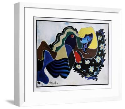 Dreaming in Color-Jenik Cook-Framed Collectable Print
