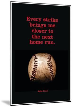 Every Strike Home--Mounted Poster
