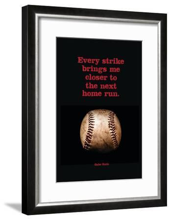 Every Strike Home--Framed Poster