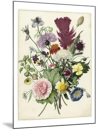 Bouquet of Flowers (1680)--Mounted Art Print