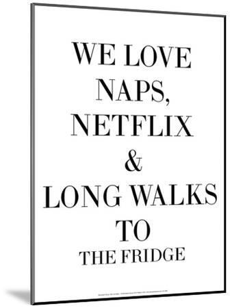 We Love Naps…-Retrospect Group-Mounted Art Print