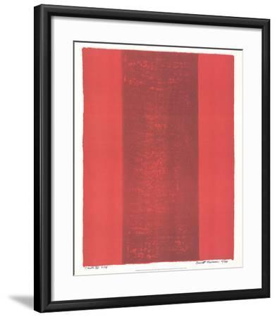 Canto XV-Barnett Newman-Framed Collectable Print