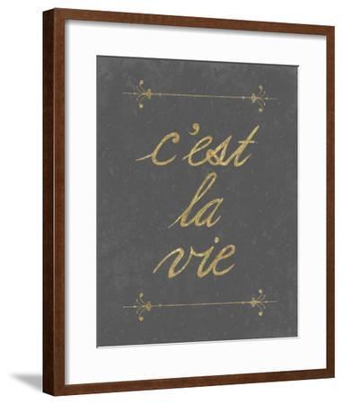 C'est La Vie-Lottie Fontaine-Framed Giclee Print