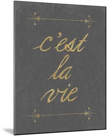 C'est La Vie-Lottie Fontaine-Mounted Giclee Print