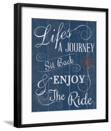 Life's a Journey-Tom Frazier-Framed Giclee Print