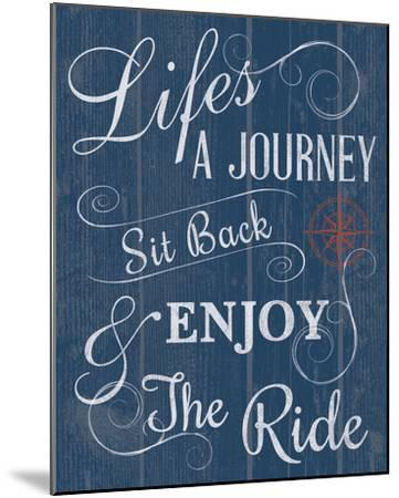 Life's a Journey-Tom Frazier-Mounted Giclee Print