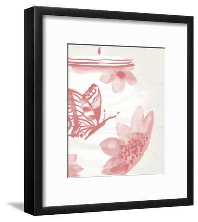 Porcelain Fencai II-Sandra Jacobs-Framed Art Print
