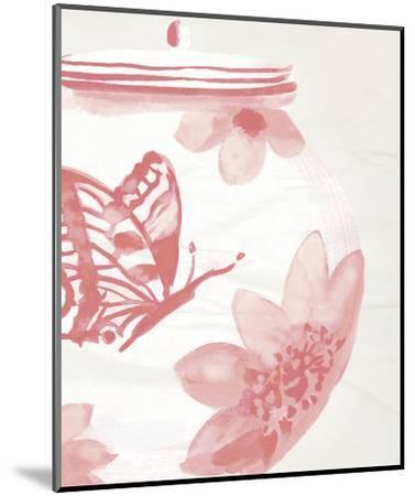 Porcelain Fencai II-Sandra Jacobs-Mounted Art Print