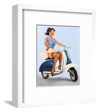 Going Places!-Fiona Stephenson-Framed Art Print