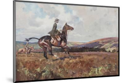 Moorland Gallup-Lionel Edwards-Mounted Premium Giclee Print