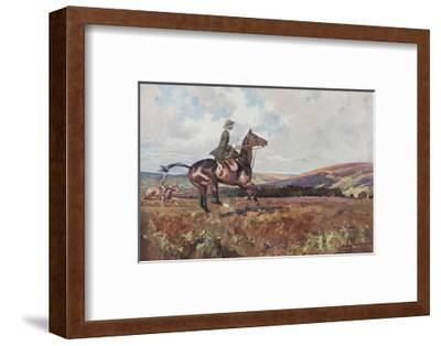 Moorland Gallup-Lionel Edwards-Framed Premium Giclee Print
