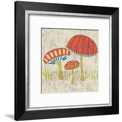 Ada's Mushrooms-Chariklia Zarris-Framed Art Print
