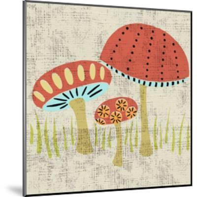 Ada's Mushrooms-Chariklia Zarris-Mounted Art Print