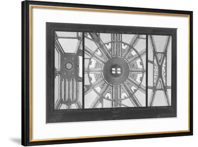 French Garden Blueprint I-Unknown-Framed Giclee Print