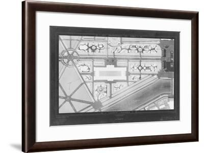 French Garden Blueprint IV-Unknown-Framed Giclee Print