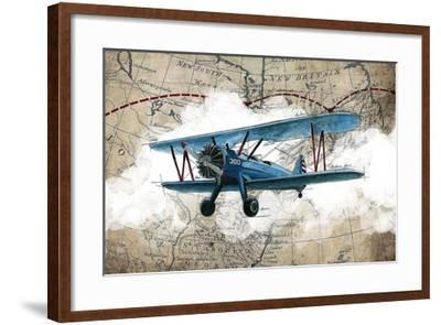 Biplane 1-GraphINC Studio-Framed Art Print