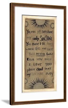 My Only Sunshine-Cindy Shamp-Framed Art Print