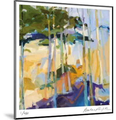 Abstract Landscape 2-Barbara Rainforth-Mounted Limited Edition
