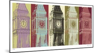Big Ben-Mj Lew-Mounted Limited Edition